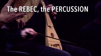 Rebec, Percussion