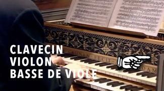 Clavecin, Violon, Basse de Viole