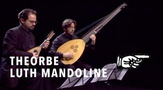 Théorbe, Luth Mandoline