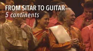 Du Sitar a la Guitare