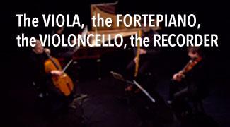 Alto Piano Forte Violoncelle Flûte à bec basse