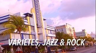 Musiques variétées jazz